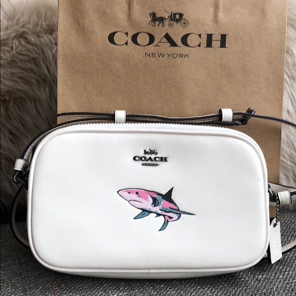756ad54e SHARK WEEK ESSENTIAL - Coach 🦈Crossbody Bag Purse NWT